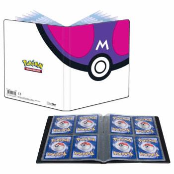 UltraPro 4 Pocket Portfolio - Pokemon - Master Ball