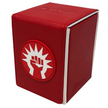 Alcove Flip Box - UltraPro - Magic - Guilds of Ravnica - Boros