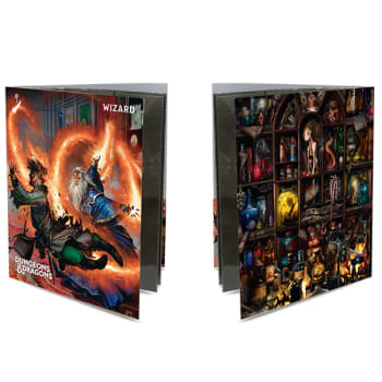 Dungeons & Dragons Wizard Class Folio with Stickers