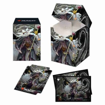 Commander 21 Silverquill 100+ Deck Box and Sleeves (100)