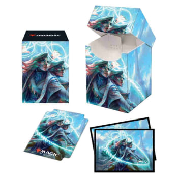 Commander 21 Quadrix 100+ Deck Box and Sleeves (100)