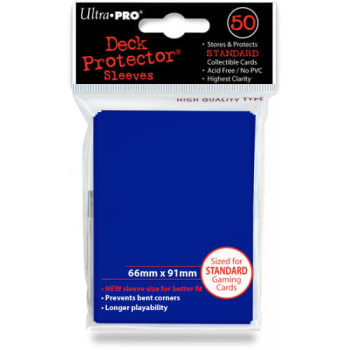 Ultra Pro Sleeves - Solid Blue - Standard Sized (50)