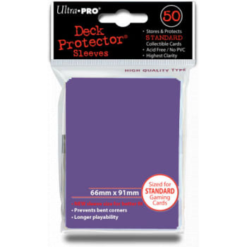 Ultra Pro Sleeves - Solid Purple - Standard Sized (50)