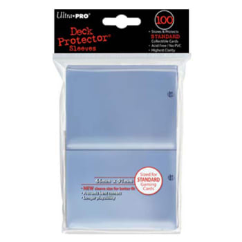Ultra Pro Sleeves - 100 count - Clear