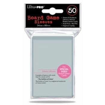 Board Game Sleeves 54x80mm 50ct (Ultra Pro)