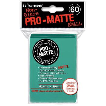 Ultra Pro Sleeves - 60 count - Small Size - Pro-Matte Aqua