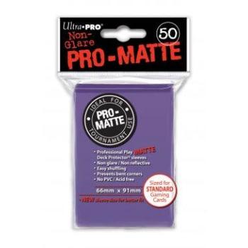 Ultra Pro Sleeves - 50 count - Pro-Matte - Purple