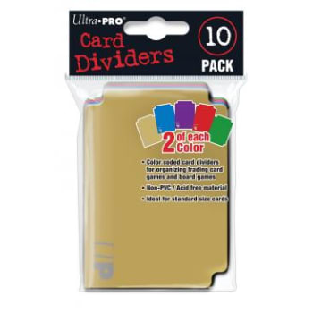 Card Dividers - 10 Pack