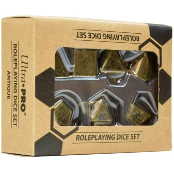 D20 Dice Set: Heavy Metal (7)