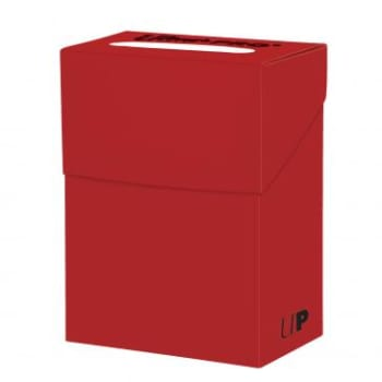 Deck Box - Solid Red