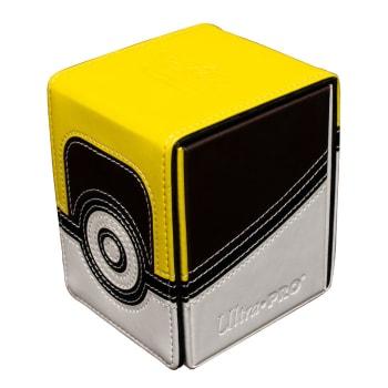 Deck Box - UltraPro - Pokemon - Alcove Flip Box - Ultra Ball