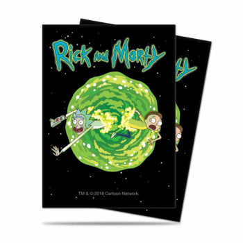 UltraPro Deck Protector - Rick and Morty - V3(65ct)