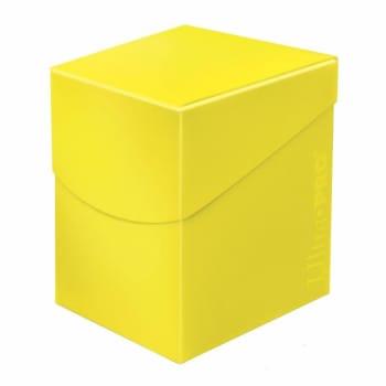 Eclipse PRO 100+ Deck Box - Lemon Yellow