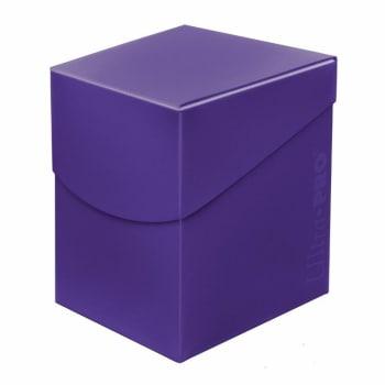 Eclipse PRO 100+ Deck Box - Royal Purple