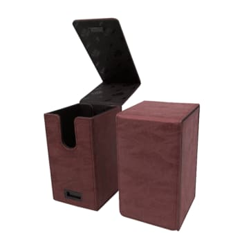 Alcove Tower Flip Box - UltraPro - Suede Collection - Ruby