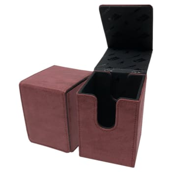 Alcove Flip Box - UltraPro - Suede Collection - Ruby