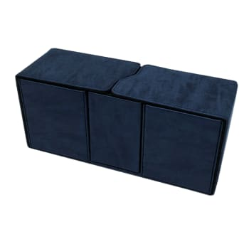Alcove Vault Deck Box - UltraPro - Suede Collection - Sapphire