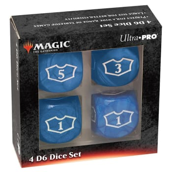 Magic - Deluxe Loyalty Dice Set - Blue