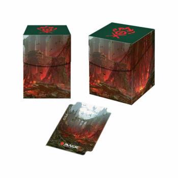 PRO 100+ Deck Box - Guilds of Ravnica - Gruul Clans