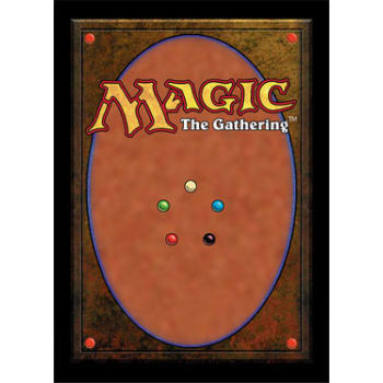 Ultrapro Sleeves Magic The Gathering Card Back New Size 80