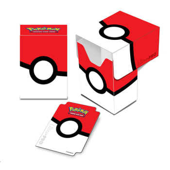 Deck Box - Pokemon - Full View - Pokeball
