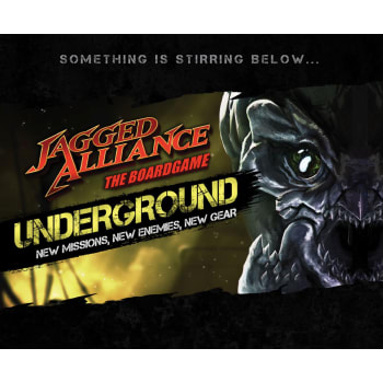 Jagged Alliance The Board Game: UNDERGROUND! Add-On (Ding & Dent)