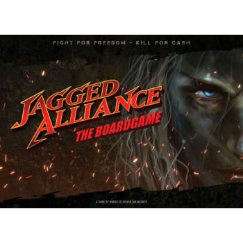 Jagged Alliance The Board Game (Ding & Dent)
