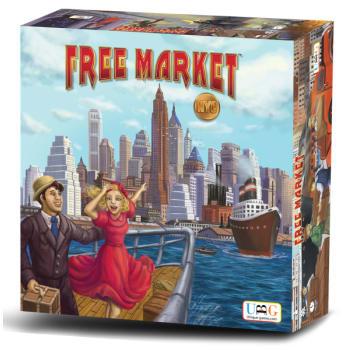 Free Market: NYC Board Game