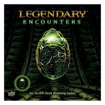 Legendary Encounters: Alien Deckbuilding Game (Ding & Dent)