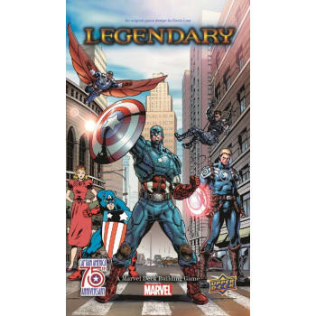 Legendary Marvel Deckbuilding Game: Captain America 75th Anniversary Expansion