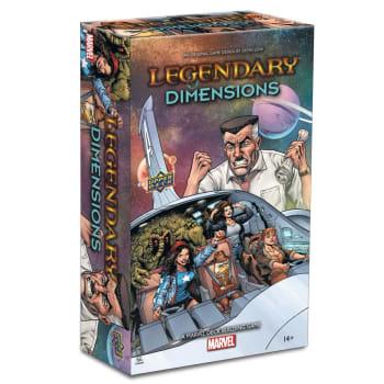 Legendary Marvel Deckbuilding Game: Dimensions Expansion