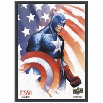 Marvel Card Sleeves: Captain America (65)