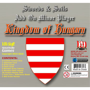 Swords & Sails: Kingdom of Hungary Minor Player Add-on