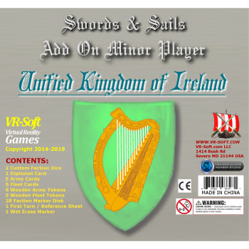 Swords & Sails: Unified Kingdom of Ireland Minor Player Add-On