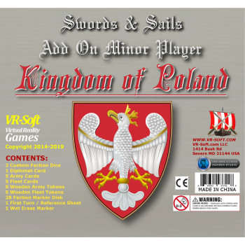 Swords & Sails: Kingdom of Poland Minor Player Add-On