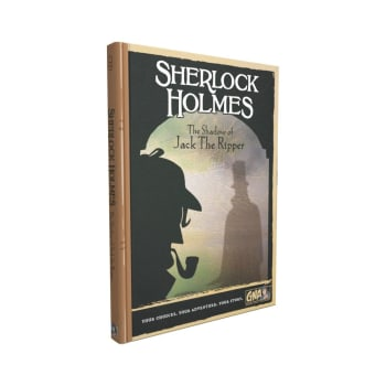 Graphic Novel Adventures: Sherlock Holmes - The Shadow of Jack The Ripper