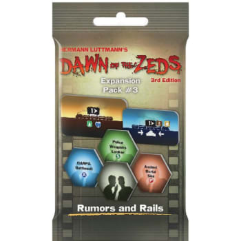 Dawn of the Zeds 3rd Edition: Rumors and Rails Expansion