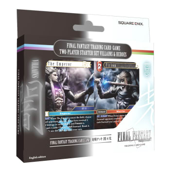 Final Fantasy TCG - Villains & Heroes Two Player Starter Set