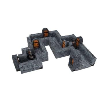 WarLock Tiles: 1 Inch Dungeon Straight Walls