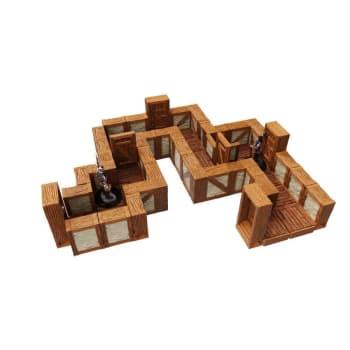 WarLock Tiles: 1 Inch Town & Village Straight Walls