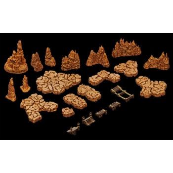 WarLock Tiles: Caverns - Base Set