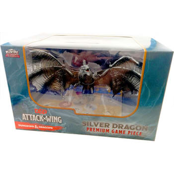 Dungeons & Dragons Attack Wing: Premium Silver Dragon Figure