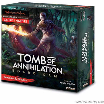 Dungeons & Dragons Tomb of Annihilation Board Game