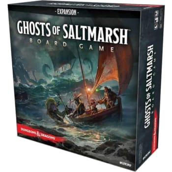 Dungeons & Dragons Ghosts of Saltmarsh Board Game Expansion (Premium Edition)