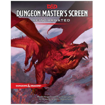 Dungeons & Dragons: Dungeon Master's Screen Reincarnated (Fifth Edition)
