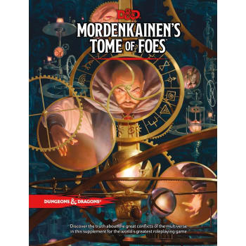 Dungeons & Dragons: Mordenkainen's Tome of Foes (Fifth Edition)