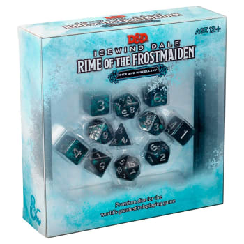 Dungeons & Dragons: Icewind Dale: Rime of the Frostmaiden Dice