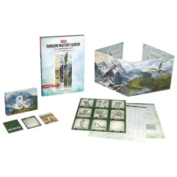 Dungeons & Dragons: Dungeon Master's Screen Wilderness Kit (Fifth Edition)