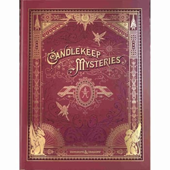 Dungeons & Dragons: Candlekeep Mysteries (Fifth Edition) Alternate Cover