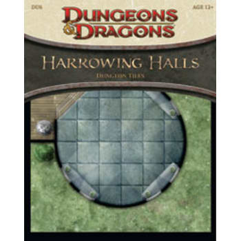 Harrowing Halls Dungeon Tiles - Dungeons and Dragons 4th Edition